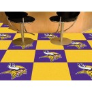 "Minnesota Vikings 18"" x 18"" Carpet Tiles (Box of 20)"