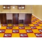 "Kansas City Chiefs 18"" x 18"" Carpet Tiles (Box of 20)"