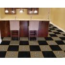 """New Orleans Saints 18"""" x 18"""" Carpet Tiles (Box of 20)"""