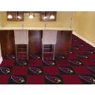 """Arizona Cardinals 18"""" x 18"""" Carpet Tiles (Box of 20)"""