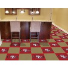 "San Francisco 49ers 18"" x 18"" Carpet Tiles (Box of 20)"