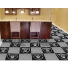 "Oakland Raiders 18"" x 18"" Carpet Tiles (Box of 20)"