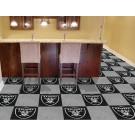 "Oakland Raiders 18"" x 18"" Carpet Tiles (Box of 20)"