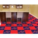"""Atlanta Braves 18"""" x 18"""" Carpet Tiles (Box of 20)"""