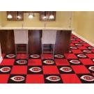 "Cincinnati Reds 18"" x 18"" Carpet Tiles (Box of 20)"