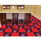 "Cleveland Indians 18"" x 18"" Carpet Tiles (Box of 20)"