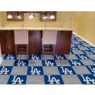 """Los Angeles Dodgers 18"""" x 18"""" Carpet Tiles (Box of 20)"""