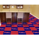 "Philadelphia Phillies 18"" x 18"" Carpet Tiles (Box of 20)"