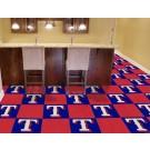 "Texas Rangers 18"" x 18"" Carpet Tiles (Box of 20)"