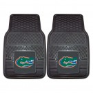 "Florida Gators 17"" x 27"" Heavy Duty 2-Piece Vinyl Car Mat Set"