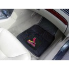 "St. Louis Cardinals 17"" x 27"" Heavy Duty 2-Piece Vinyl Car Mat Set"