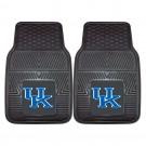 """Kentucky Wildcats 17"""" x 27"""" Heavy Duty 2-Piece Vinyl Car Mat Set"""