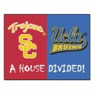 "USC Trojans / UCLA Bruins ""House Divided"" 34"" x 44.5"" All Star Floor Mat"