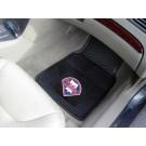 """Philadelphia Phillies 17"""" x 27"""" Heavy Duty 2-Piece Vinyl Car Mat Set"""