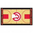 "Atlanta Hawks 30"" x 54"" Basketball Court Runner"
