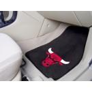 "Chicago Bulls 18"" x 27"" Auto Floor Mat (Set of 2 Car Mats)"