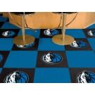 """Dallas Mavericks 18"""" x 18"""" Carpet Tiles (Box of 20)"""