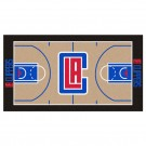 "Los Angeles Clippers 30"" x 54"" Basketball Court Runner"