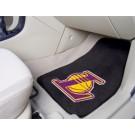 """Los Angeles Lakers 18"""" x 27"""" Auto Floor Mat (Set of 2 Car Mats)"""