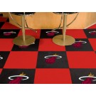 "Miami Heat 18"" x 18"" Carpet Tiles (Box of 20)"