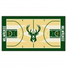 "Milwaukee Bucks 30"" x 54"" Basketball Court Runner"