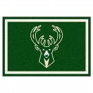 Milwaukee Bucks 5' x 8' Area Rug