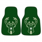 "Milwaukee Bucks 18"" x 27"" Auto Floor Mat (Set of 2 Car Mats)"