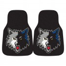 "Minnesota Timberwolves 18"" x 27"" Auto Floor Mat (Set of 2 Car Mats)"