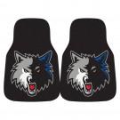 "Minnesota Timberwolves 18"" x 27"" Auto Floor Mat (Set of 2 Car Mats)"