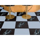 "San Antonio Spurs 18"" x 18"" Carpet Tiles (Box of 20)"