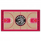 "Toronto Raptors 30"" x 54"" Basketball Court Runner"