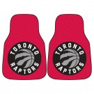 "Toronto Raptors 18"" x 27"" Auto Floor Mat (Set of 2 Car Mats)"