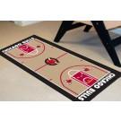 """Chicago Bulls 24"""" x 44"""" Basketball Court Runner"""