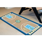 "Denver Nuggets 24"" x 44"" Basketball Court Runner"