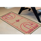 "Houston Rockets 24"" x 44"" Basketball Court Runner"