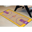 """Los Angeles Lakers 24"""" x 44"""" Basketball Court Runner"""