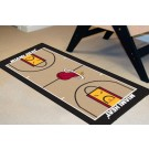 "Miami Heat 24"" x 44"" Basketball Court Runner"