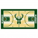 "Milwaukee Bucks 24"" x 44"" Basketball Court Runner"