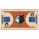 "Minnesota Timberwolves 24"" x 44"" Basketball Court Runner"