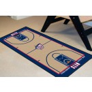 """New Jersey Nets 24"""" x 44"""" Basketball Court Runner"""