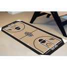 "San Antonio Spurs 24"" x 44"" Basketball Court Runner"