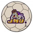 "27"" Round James Madison Dukes Soccer Mat"