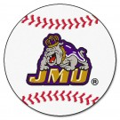 "27"" Round James Madison Dukes Baseball Mat"