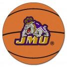"27"" Round James Madison Dukes Basketball Mat"
