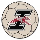"Indianapolis Greyhounds 27"" Round Soccer Ball Mat"