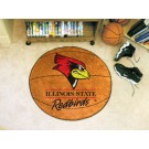 "27"" Round Illinois State Redbirds Basketball Mat"
