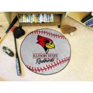 "27"" Round Illinois State Redbirds Baseball Mat"