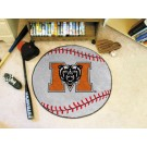 "27"" Round Mercer (Atlanta) Bears Baseball Mat"