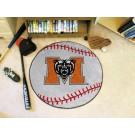 "27"" Round Mercer (Atlanta) Bears Baseball Mat"