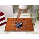 "34"" x 45"" Mercer (Atlanta) Bears All Star Floor Mat"